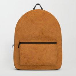 Yellow suede Backpack
