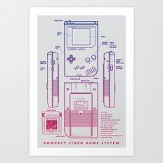 Game Kid Art Print