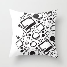 ABSTRACT 011 Throw Pillow