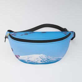 Cherry Blossom Mountain Fanny Pack