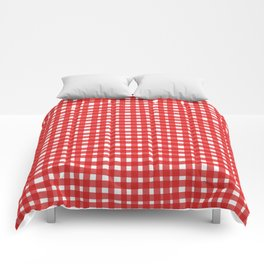 Red Gingham Comforters