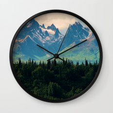 Escaping from woodland heights Wall Clock