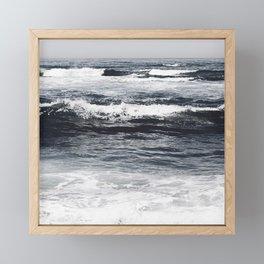 Moody Ocean Framed Mini Art Print