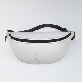 Abstract Sail On Sail On Sailor Fanny Pack