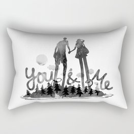 You & Me Rectangular Pillow