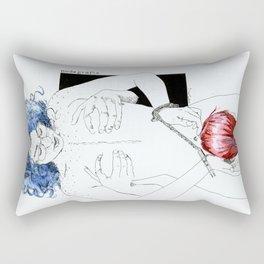 NUDEGRAFIA -25 bluehair Rectangular Pillow