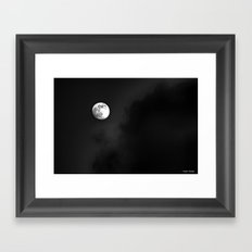 Summer Moon Framed Art Print