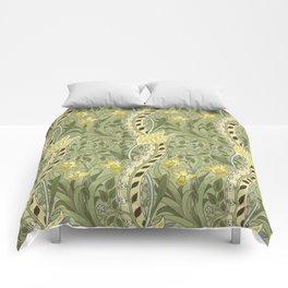 "William Morris ""Daffodil"" Comforters"