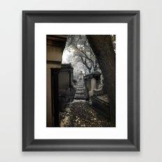 Cemetery Framed Art Print