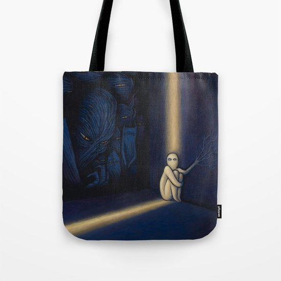Dark Side Of Me Tote Bag