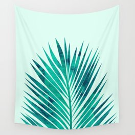 Composition tropical leaves XV Wall Tapestry