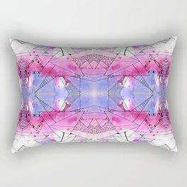 Abstract Purple Design Rectangular Pillow