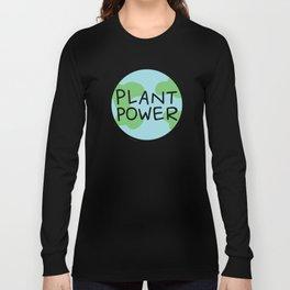 Plant Power Long Sleeve T-shirt