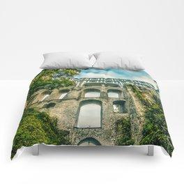 Cesky Krumlov gate Comforters