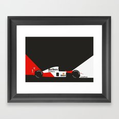 MP4/6 Framed Art Print