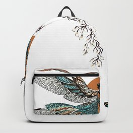 Dragon Fly Tattoo Backpack
