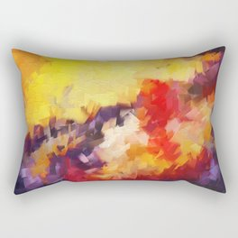 Abstract Impressions of an Abstract Rectangular Pillow