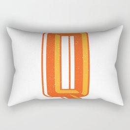 Letter Q Rectangular Pillow