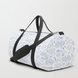 Lemony Toile de Jouy Duffle Bag