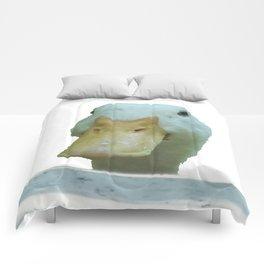 Peeking Duck Vector Comforters