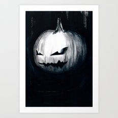 Keeping Up With Halloween Art Print