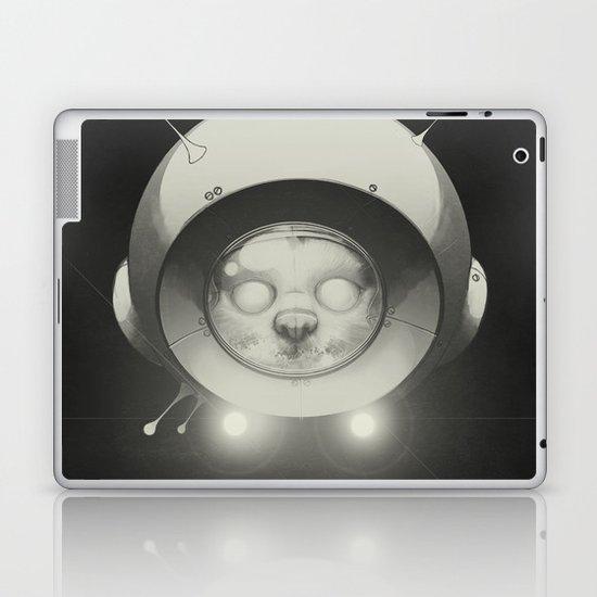 Space Kitty Laptop & iPad Skin