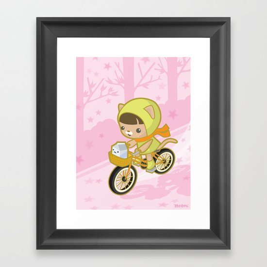 Blossom Ride Framed Art Print