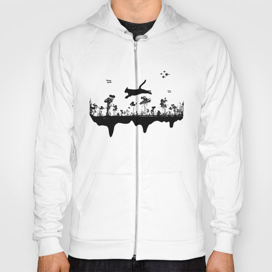 The Cat and Ink drop bombs Hoody