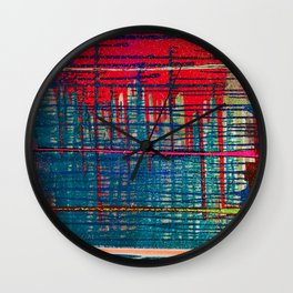 Eye Wide Shut Wall Clock