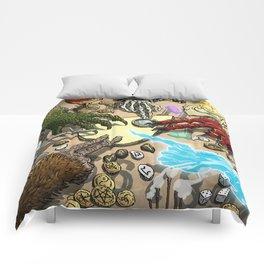 Ouija Monster! Comforters