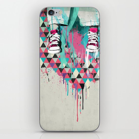 Jump iPhone & iPod Skin