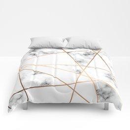 Marble Geometry 054 Comforters