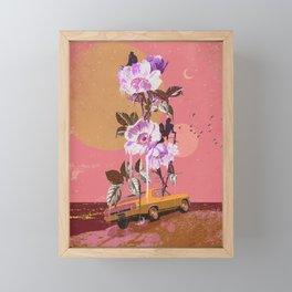 NIGHT DRIVE Framed Mini Art Print