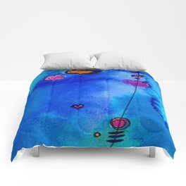 Magical Thinking No. 2C by Kathy Morton Stanion Comforters