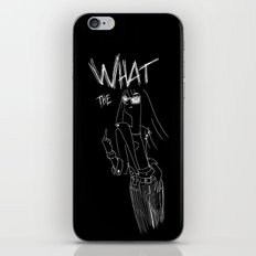 What the... iPhone & iPod Skin