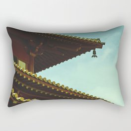 tile roof Rectangular Pillow