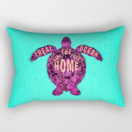 ocean omega (variant) Rectangular Pillow