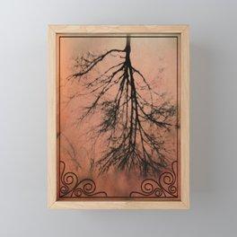 The Upside Down Tree Framed Mini Art Print