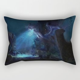 The Heart of  Atlantis Rectangular Pillow