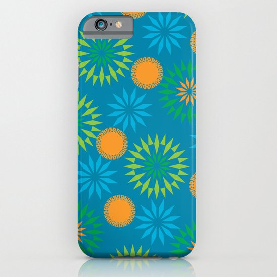 Spikey Flower Calm iPhone & iPod Case