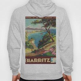 Vintage poster - Biarritz, France Hoody