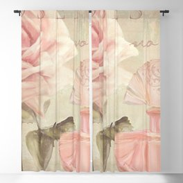 Perfume and Roses I Blackout Curtain