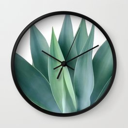 Agave blanco Wall Clock