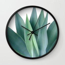 Agave blanco Wall Clock
