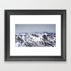 alpine I Framed Art Print
