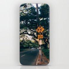Honolulu Road iPhone & iPod Skin