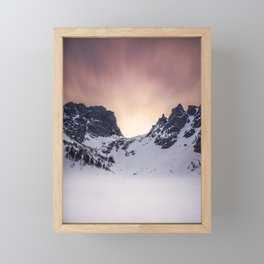 Emerald Skies Framed Mini Art Print