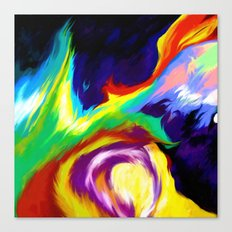 Burn Off Canvas Print