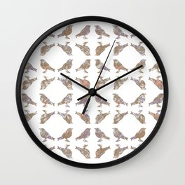 Dreamy Birds III Wall Clock