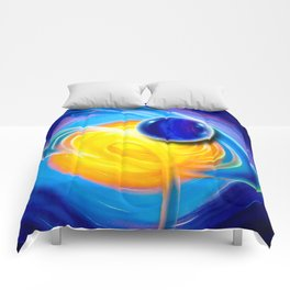 Abstract perfection - Circle Comforters